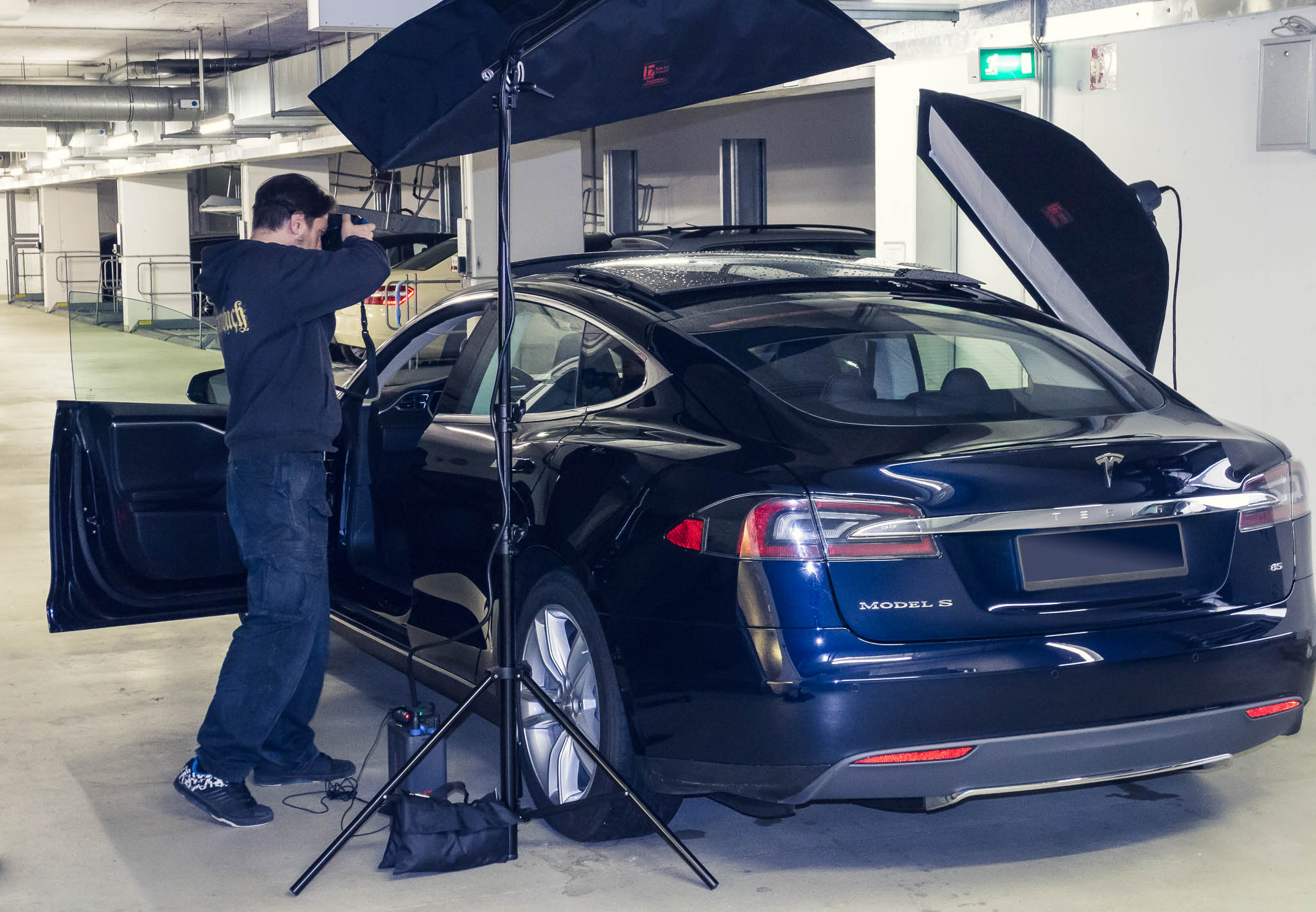 Making Of Tesla - Shot 1